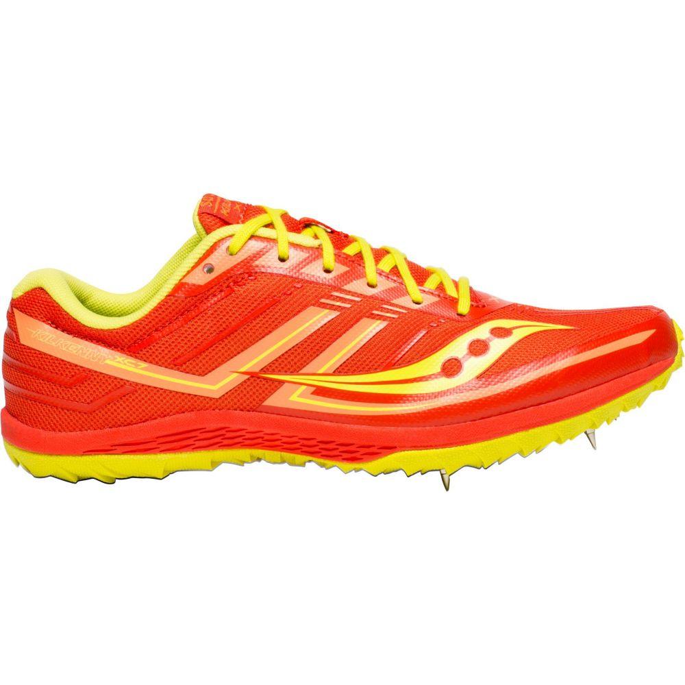 サッカニー Saucony レディース 陸上 シューズ・靴【Kilkenny XC Cross Country Shoes】Orange/Green