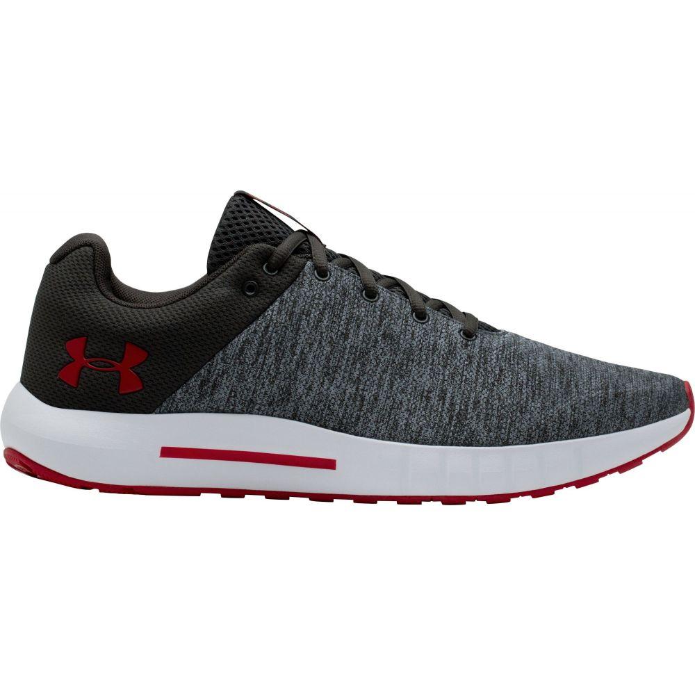 アンダーアーマー Under Armour メンズ ランニング・ウォーキング シューズ・靴【Micro G Pursuit Twist Running Shoes】Grey