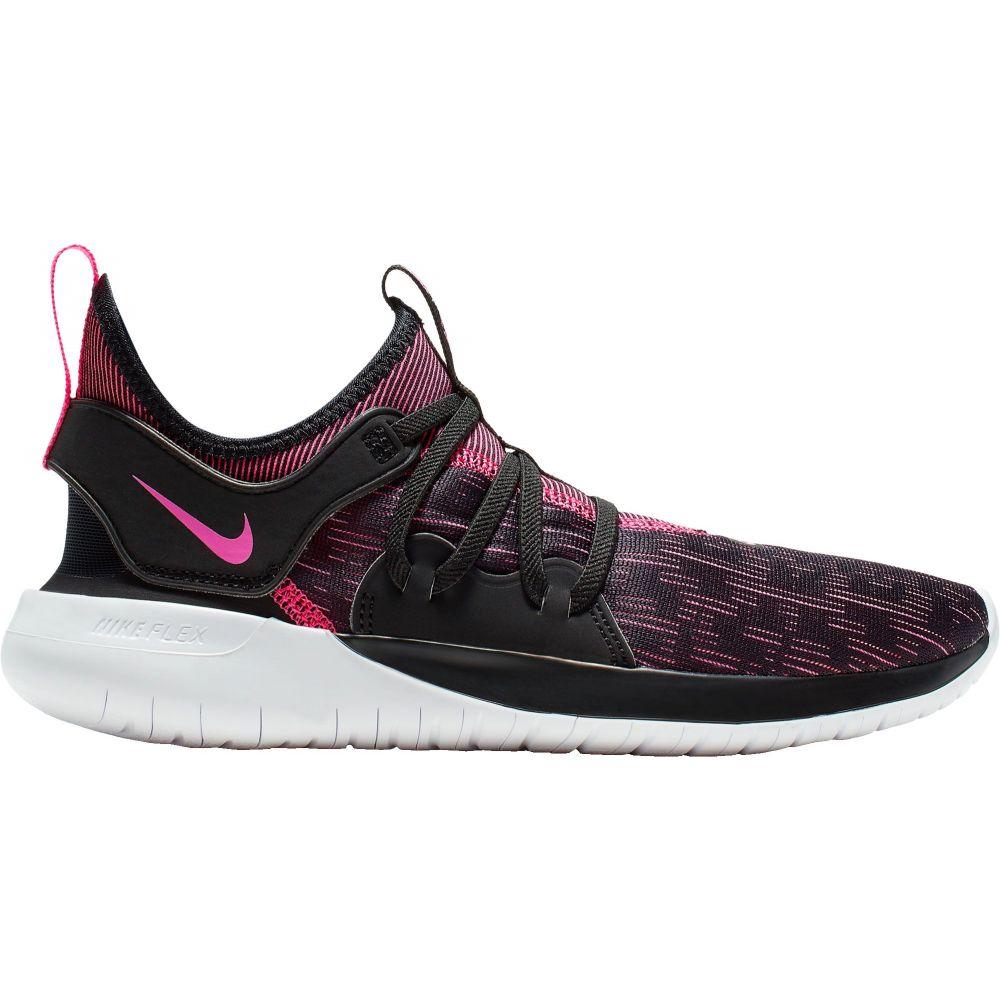 ナイキ Nike レディース ランニング・ウォーキング シューズ・靴【Flex Contact 3 Running Shoes】Black/Pink