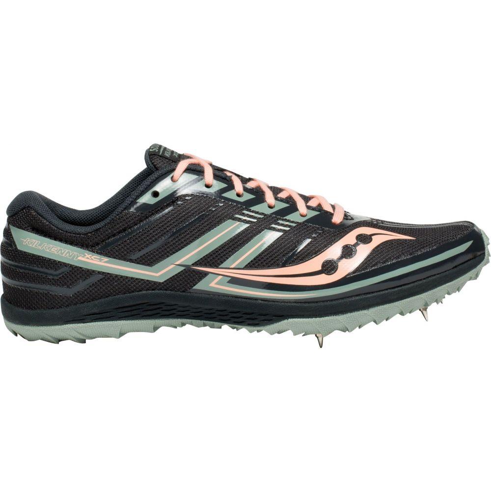 サッカニー Saucony レディース 陸上 シューズ・靴【Kilkenny XC Cross Country Shoes】Black/Pink