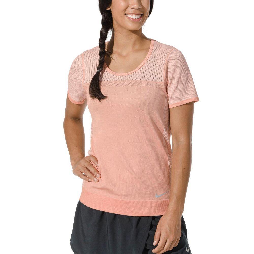 ナイキ Nike レディース ランニング・ウォーキング トップス【Infinite Short Sleeve Running Top】Pink Quartz
