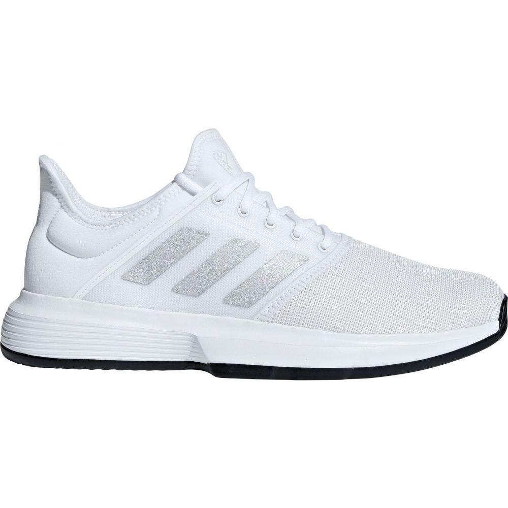 アディダス adidas メンズ テニス シューズ・靴【GameCourt Tennis Shoes】White/Black