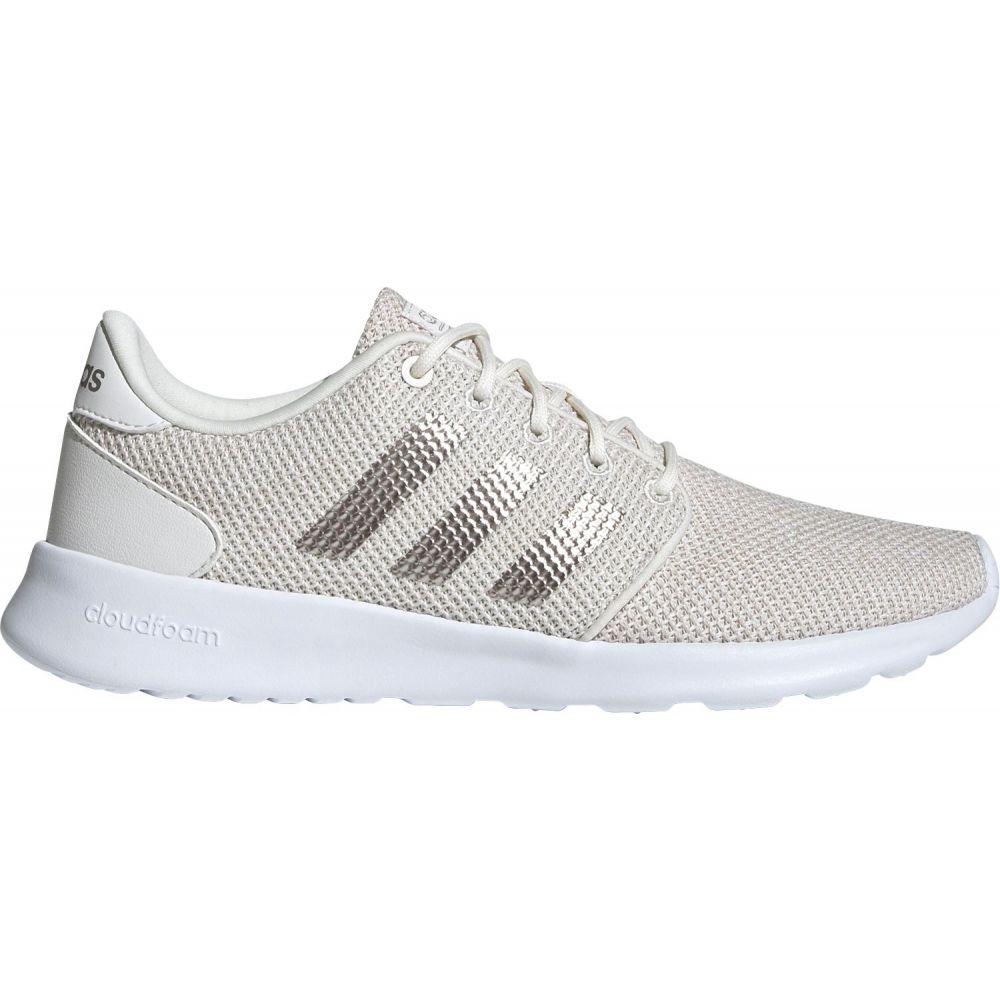 アディダス adidas レディース スニーカー シューズ・靴【Cloudfoam QT Racer Shoes】Ivory/Silver