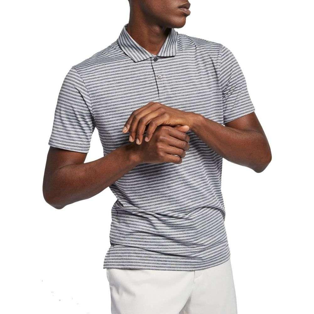 ナイキ Nike メンズ ゴルフ ポロシャツ トップス【Tiger Woods Vapor Stripe Golf Polo】Black