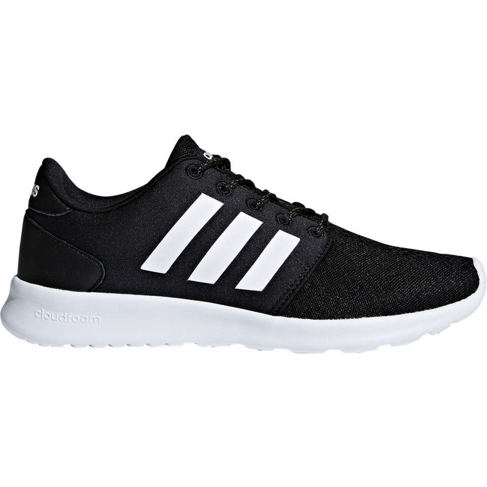 アディダス adidas レディース スニーカー シューズ・靴【Cloudfoam QT Racer Shoes】Black/White