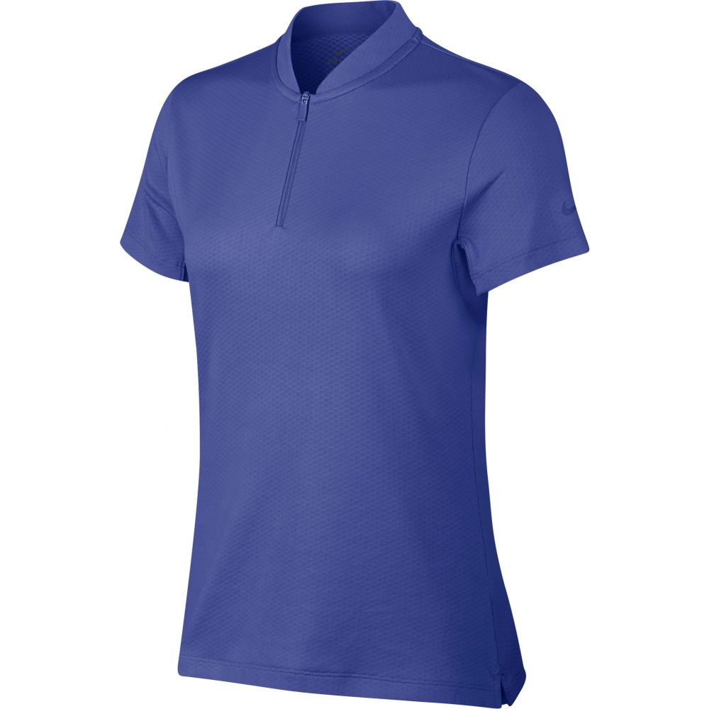 ナイキ Nike レディース ゴルフ ドライフィット ポロシャツ トップス【Dri-FIT Blade Golf Polo】Blue Void
