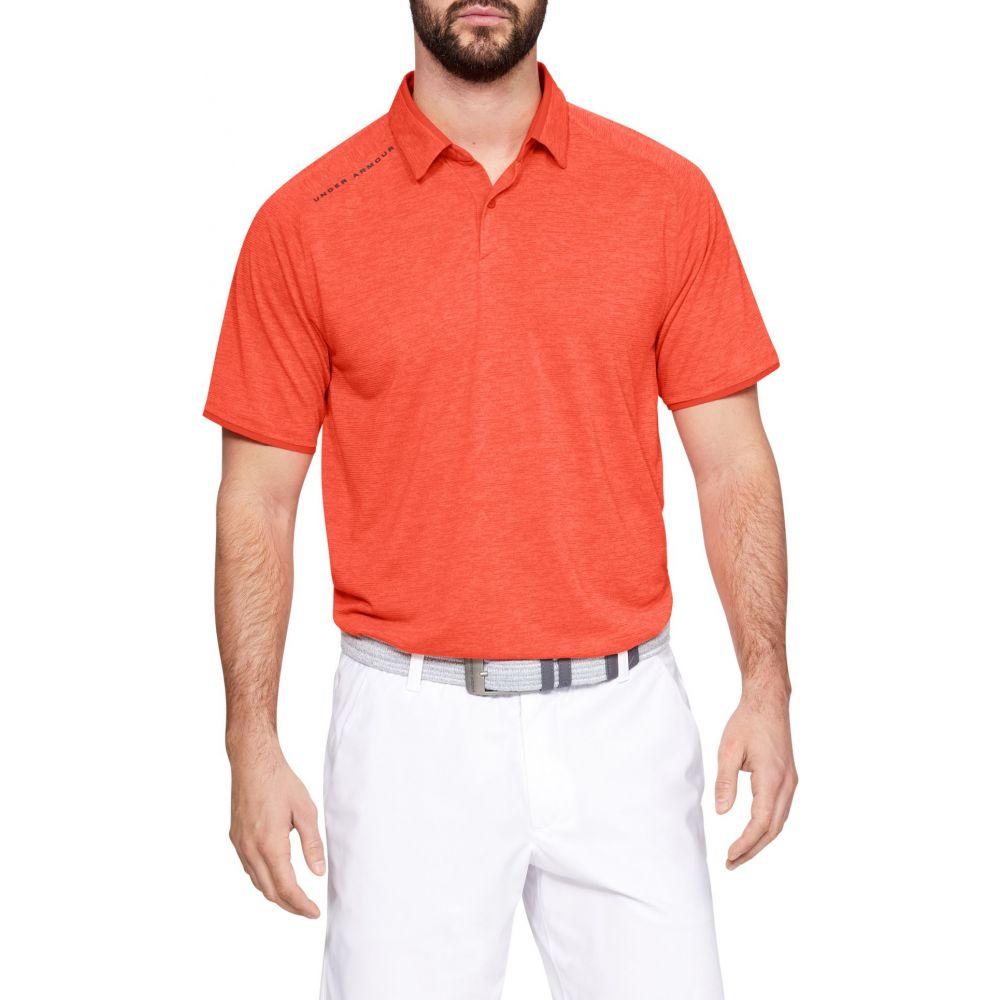 アンダーアーマー Under Armour メンズ ゴルフ ポロシャツ トップス【Vanish Golf Polo】Papaya