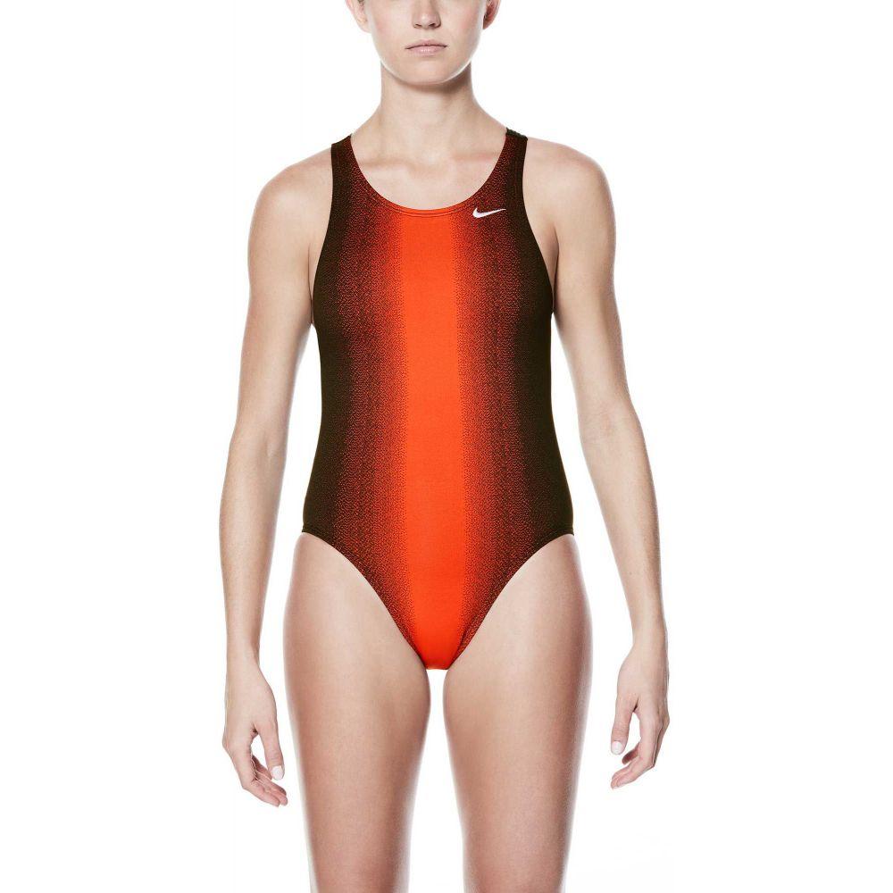 ナイキ Nike レディース ワンピース 水着・ビーチウェア【Fade Sting Fast Back Swimsuit】Team Orange