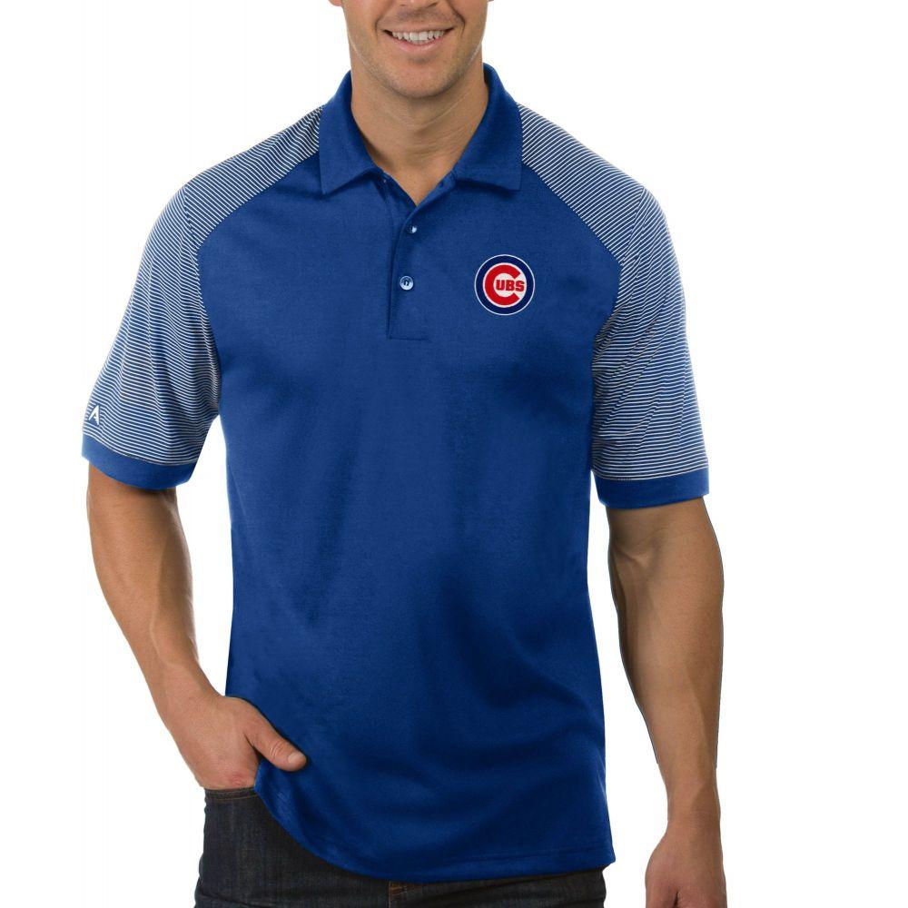 アンティグア Antigua メンズ ポロシャツ トップス【Chicago Cubs Engage Royal Polo】