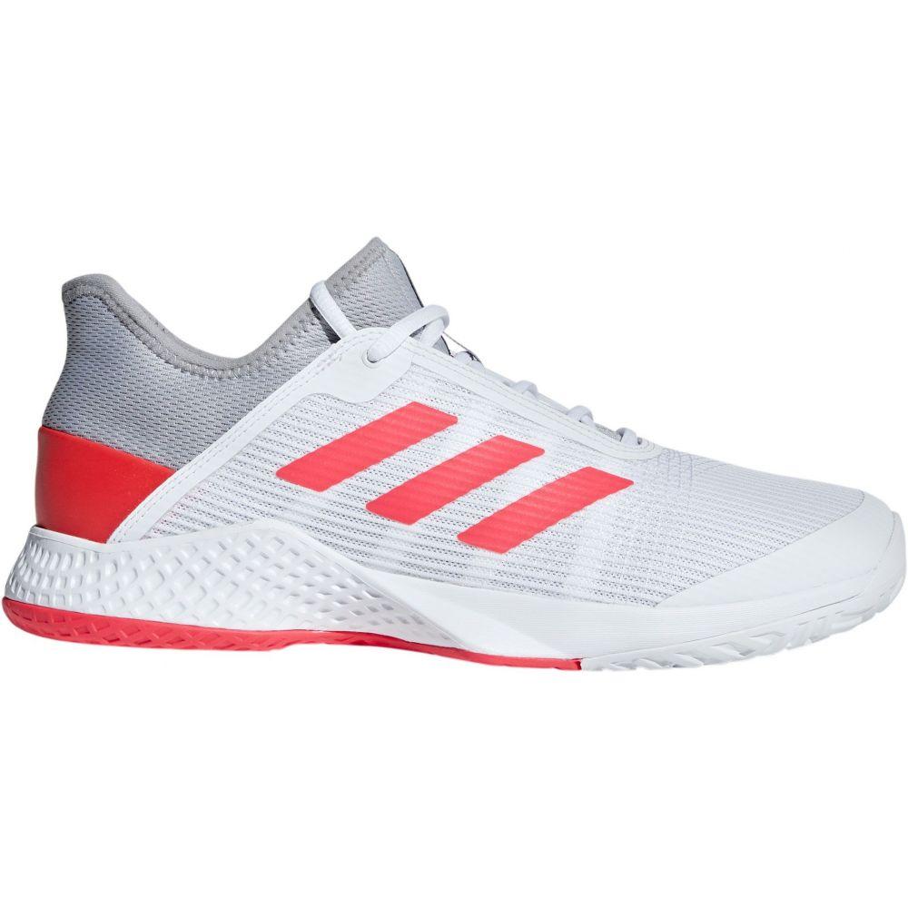 アディダス adidas メンズ テニス シューズ・靴【adizero Club 2 Tennis Shoes】Grey/White/Red