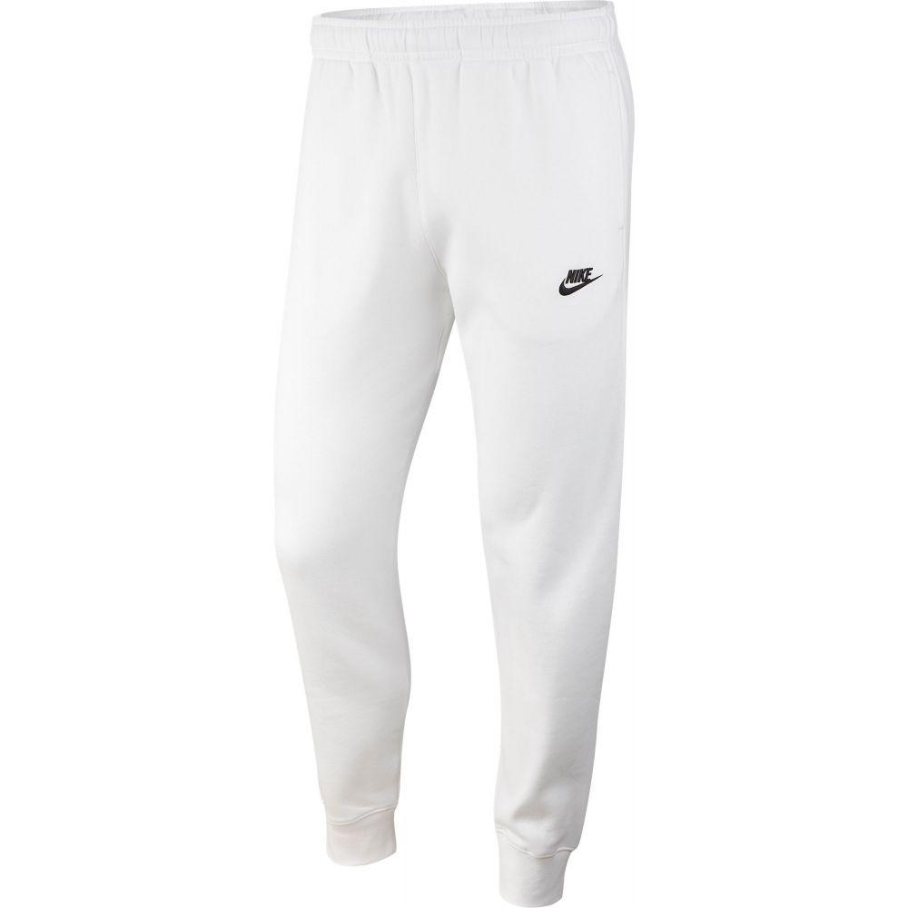 ナイキ Nike メンズ ジョガーパンツ ボトムス・パンツ【Sportswear Club Fleece Joggers】White/White/Black