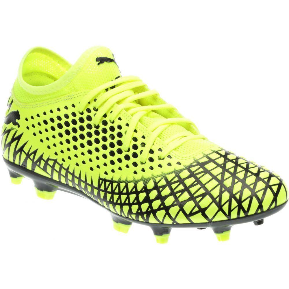プーマ PUMA メンズ サッカー スパイク シューズ・靴【Future 4.4 FG/AG Soccer Cleats】Yellow/Black