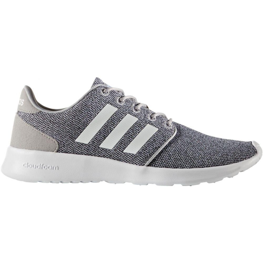 アディダス adidas レディース スニーカー シューズ・靴【Cloudfoam QT Racer Shoes】Grey/White