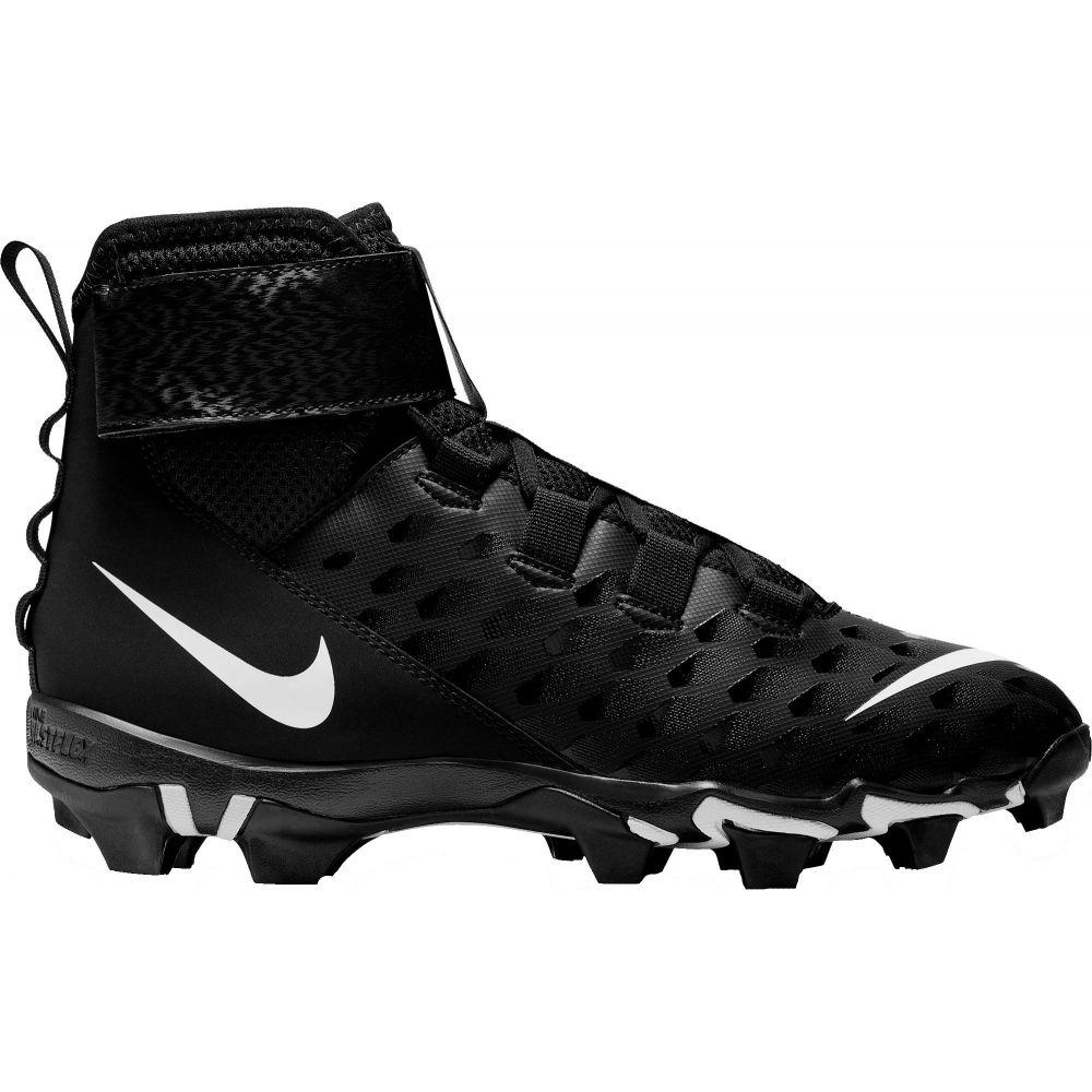 ナイキ Nike メンズ アメリカンフットボール スパイク シューズ・靴【Force Savage Shark 2 Mid Football Cleats】Black/White