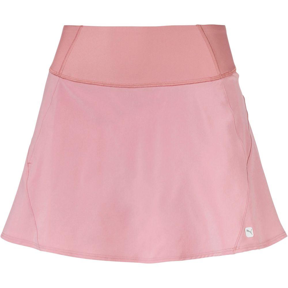 プーマ PUMA レディース ゴルフ スカート ボトムス・パンツ【PWRSHAPE Pleat Wave Golf Skirt】Bridal Rose