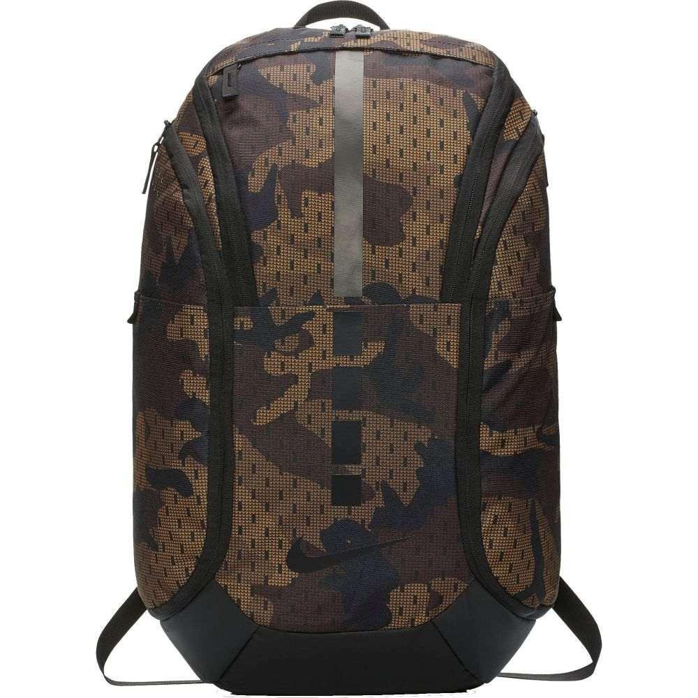 ナイキ Nike ユニセックス バスケットボール バックパック・リュック【Hoops Elite Pro Camo Basketball Backpack】Velvet Brown/Golden Beige
