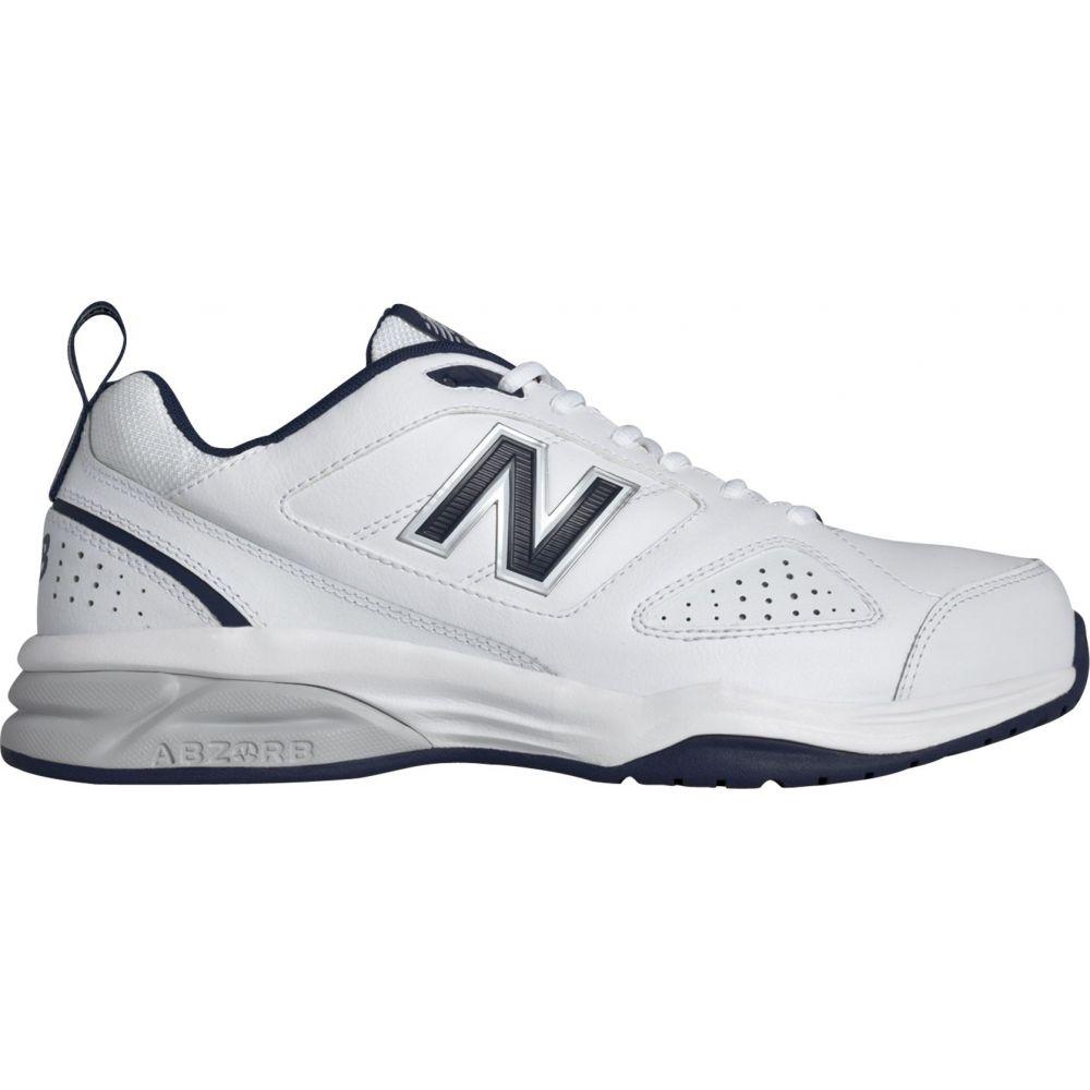 ニューバランス New Balance メンズ フィットネス・トレーニング シューズ・靴【623v3 Training Shoes】White/Navy