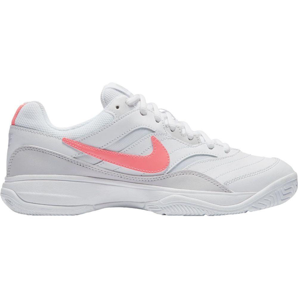 ナイキ レディース テニス シューズ・靴 【サイズ交換無料】 ナイキ Nike レディース テニス シューズ・靴【Court Lite Tennis Shoes】White/Pink