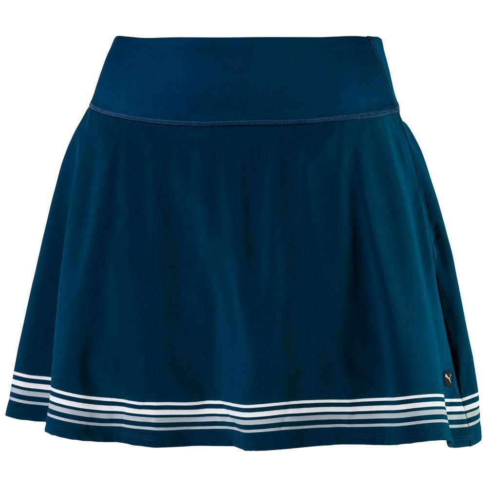プーマ PUMA レディース ゴルフ スカート ボトムス・パンツ【PWRSHAPE Ribbon Golf Skirt】Gibraltar Sea