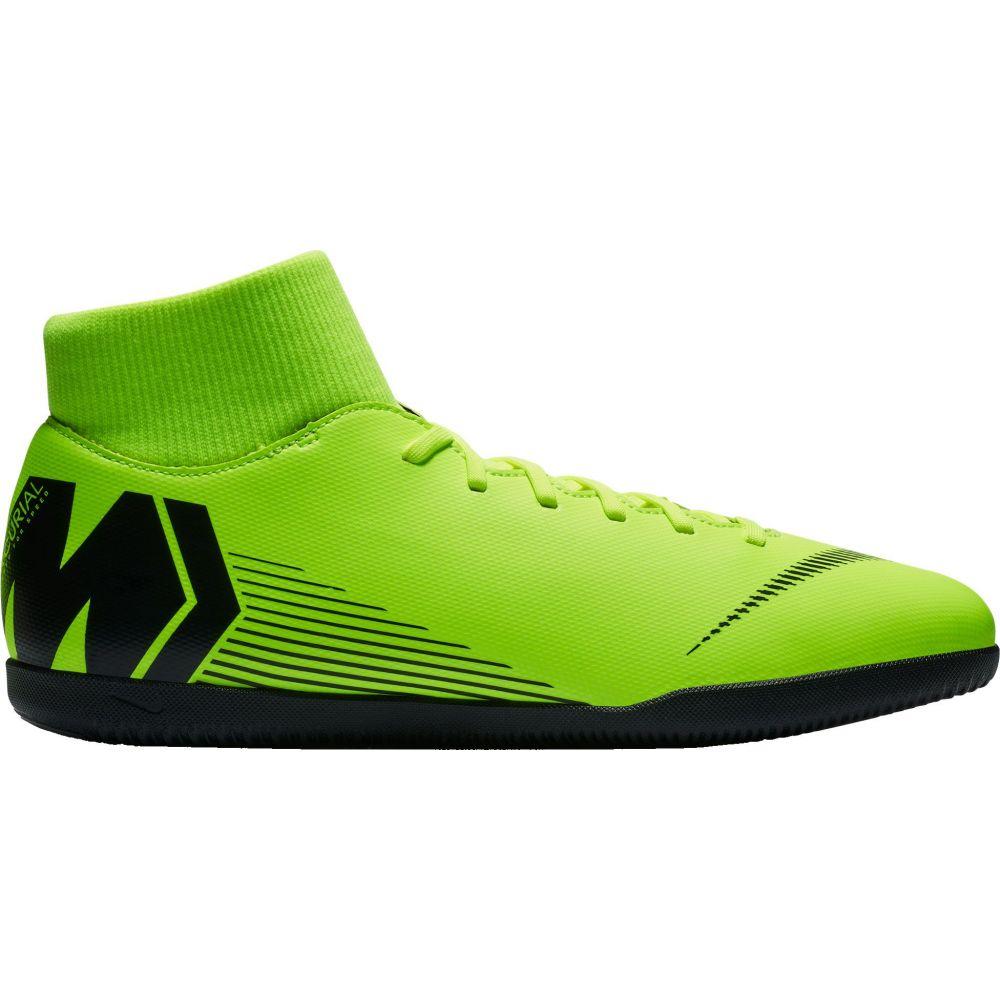ナイキ Nike メンズ サッカー シューズ・靴【MercurialX Superfly 6 Club Indoor Soccer Shoes】Green/Black