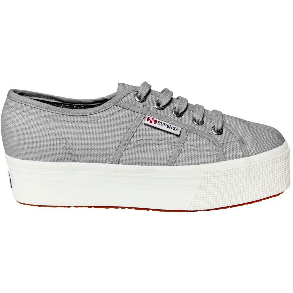 スペルガ Superga レディース スニーカー シューズ・靴【2790 ACOTW Platform Shoes】Grey/White