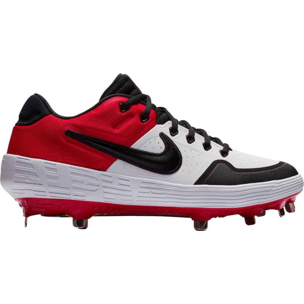 ナイキ Nike メンズ 野球 スパイク シューズ・靴【Alpha Huarache Elite 2 Baseball Cleats】White/Red