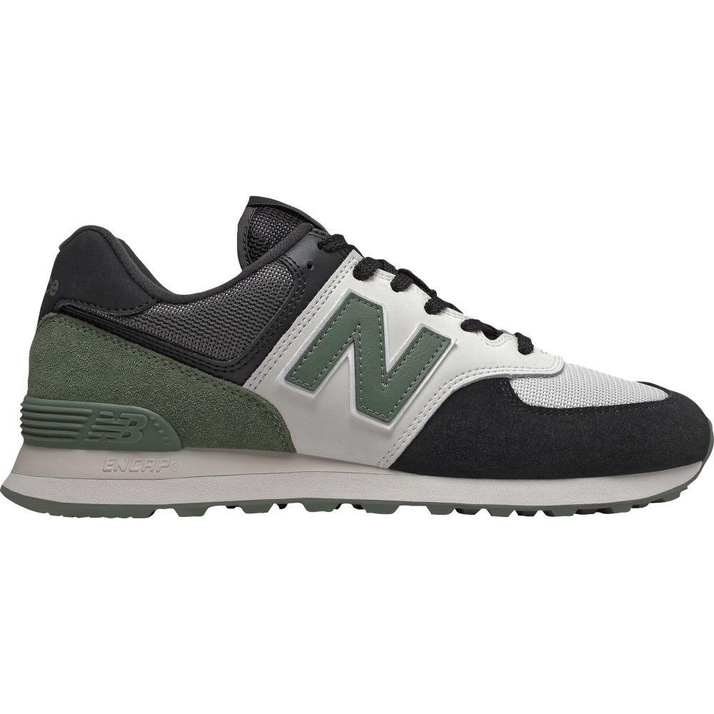 ニューバランス New Balance メンズ スニーカー シューズ・靴【574 v2 Shoes】Black/Green