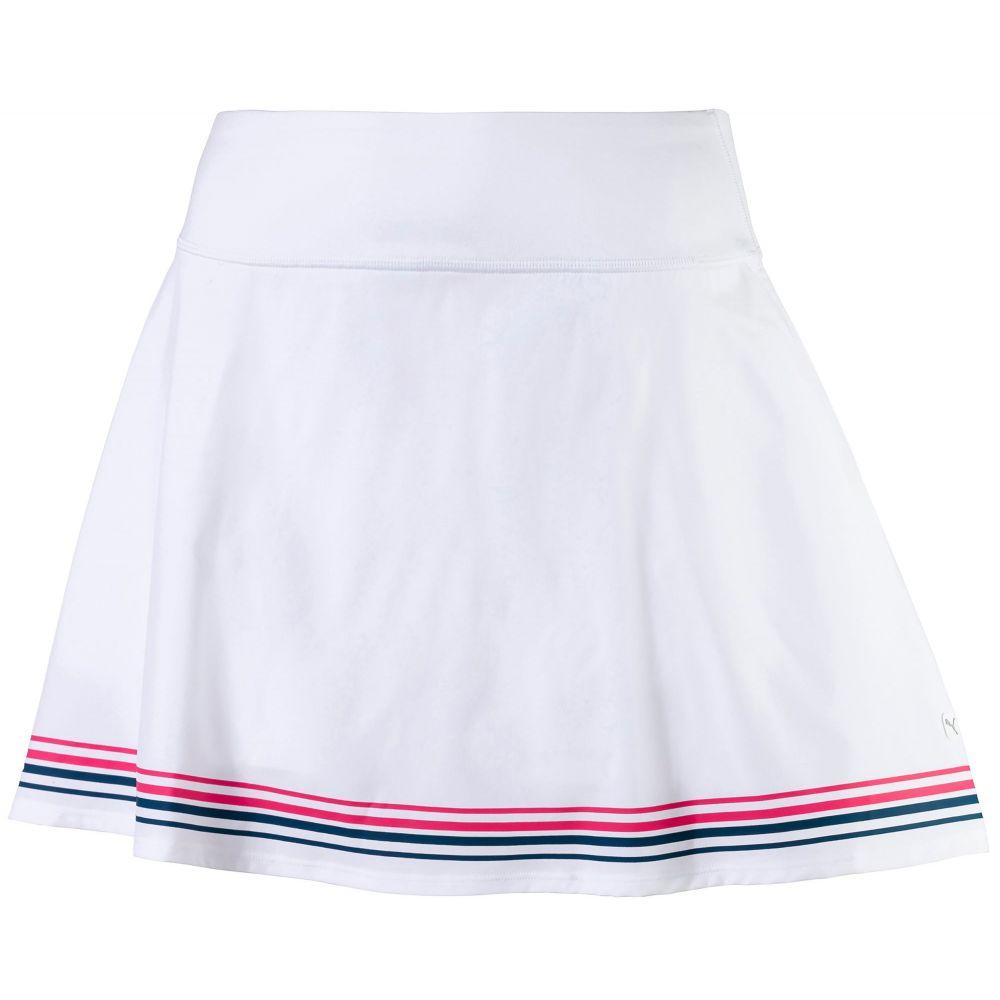 プーマ PUMA レディース ゴルフ スカート ボトムス・パンツ【PWRSHAPE Ribbon Golf Skirt】Bright White