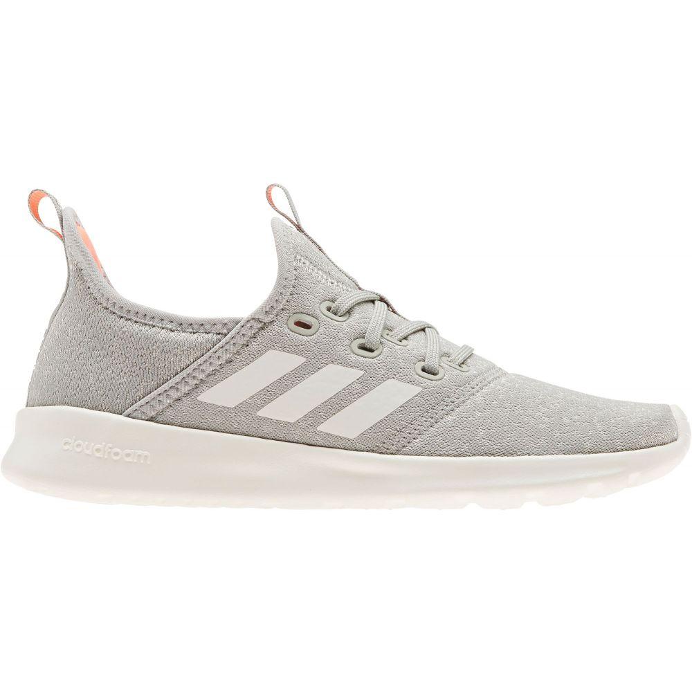アディダス adidas レディース スニーカー シューズ・靴【Cloudfoam Pure Shoes】Grey/White/Coral