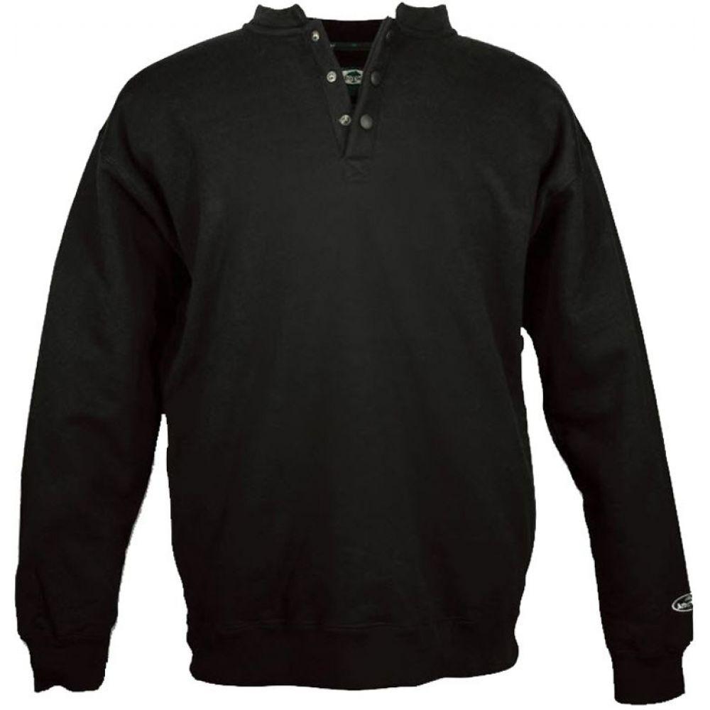 アーバーウェア Arborwear メンズ スウェット・トレーナー トップス【Single Thick Crew Sweatshirt (Regular and Big & Tall)】Black