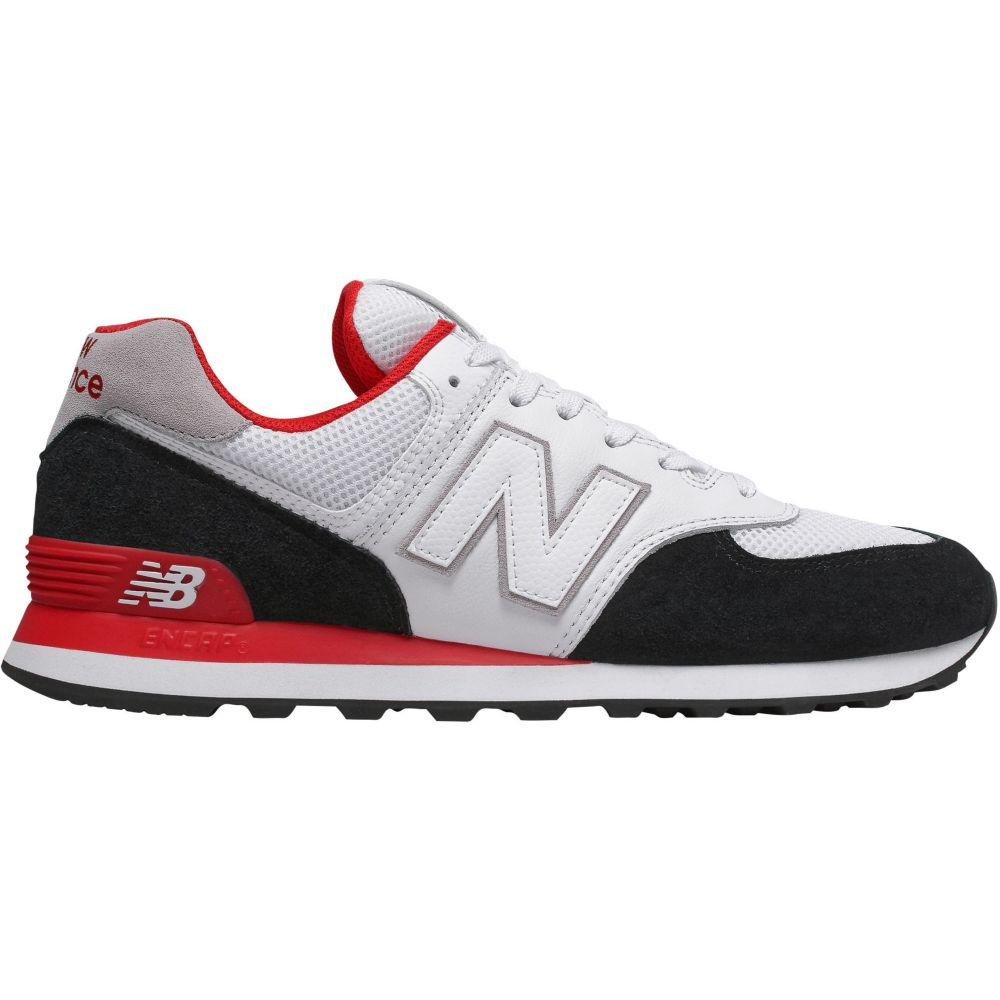 ニューバランス New Balance メンズ スニーカー シューズ・靴【574 v2 Shoes】White/Black/Red