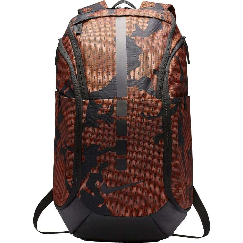 ナイキ Nike ユニセックス バスケットボール バックパック・リュック【Hoops Elite Pro Camo Basketball Backpack】Dark Russet
