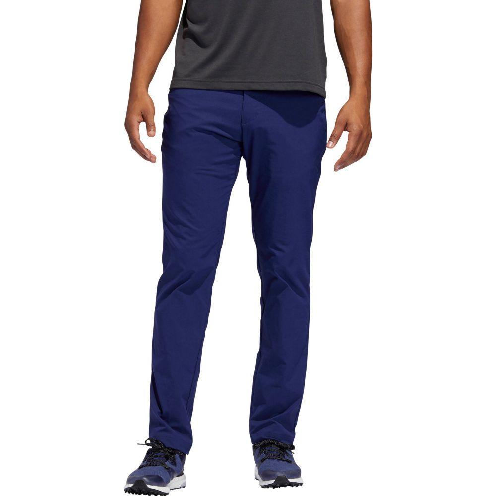 アディダス adidas メンズ ゴルフ ボトムス・パンツ【Adicross Slim 5 Pocket Golf Pants】Dark 青