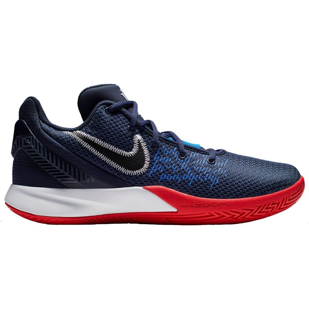 ナイキ Nike メンズ バスケットボール シューズ・靴【Kyrie Flytrap II Basketball Shoes】Obsidian/University Red