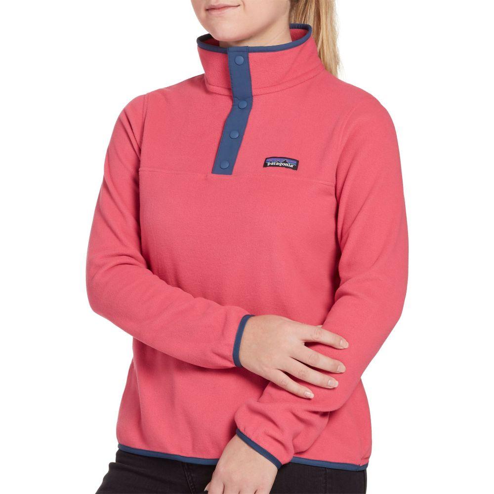 パタゴニア Patagonia レディース フリース トップス【Micro D Snap-T Fleece Pullover】Reef Pink