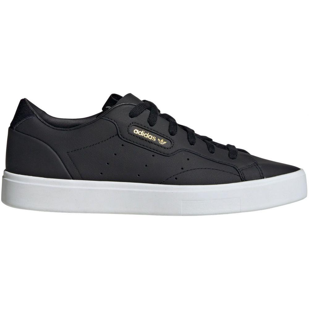 アディダス adidas レディース スニーカー シューズ・靴【Sleek Shoes】Black/White