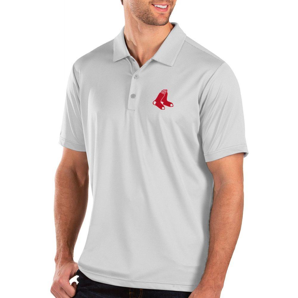アンティグア Antigua メンズ ポロシャツ トップス【Boston Red Sox White Balance Polo】