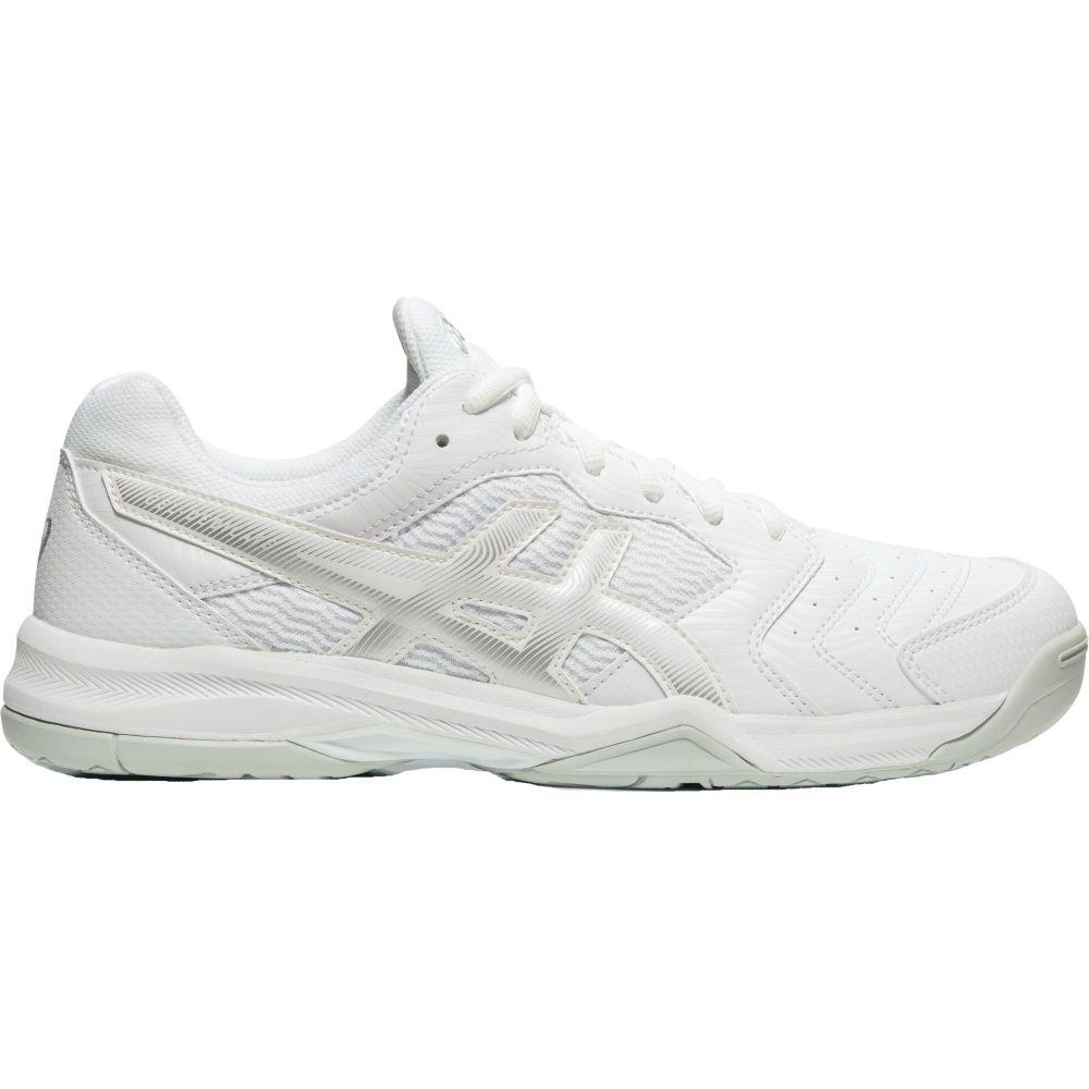 アシックス ASICS メンズ テニス シューズ・靴【Gel-Dedicate 6 Tennis Shoes】White/Silver