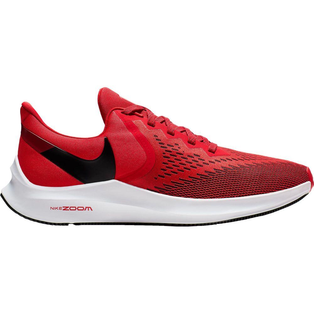 ナイキ Nike メンズ ランニング・ウォーキング シューズ・靴【Zoom Winflo 6 Running Shoes】Red/White