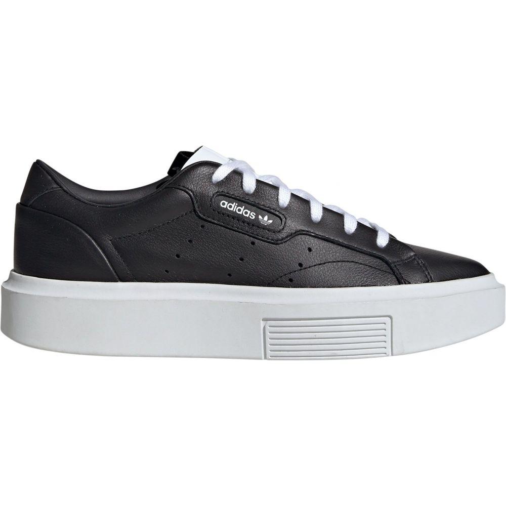 アディダス adidas レディース スニーカー シューズ・靴【Super Sleek Shoes】Black/White