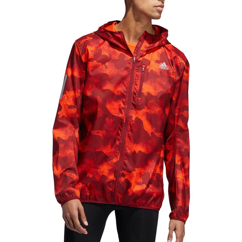 アディダス adidas メンズ ランニング・ウォーキング ジャケット アウター【Own The Run Camouflage Running Jacket】Activ Org/Act Mrn/Col Bur