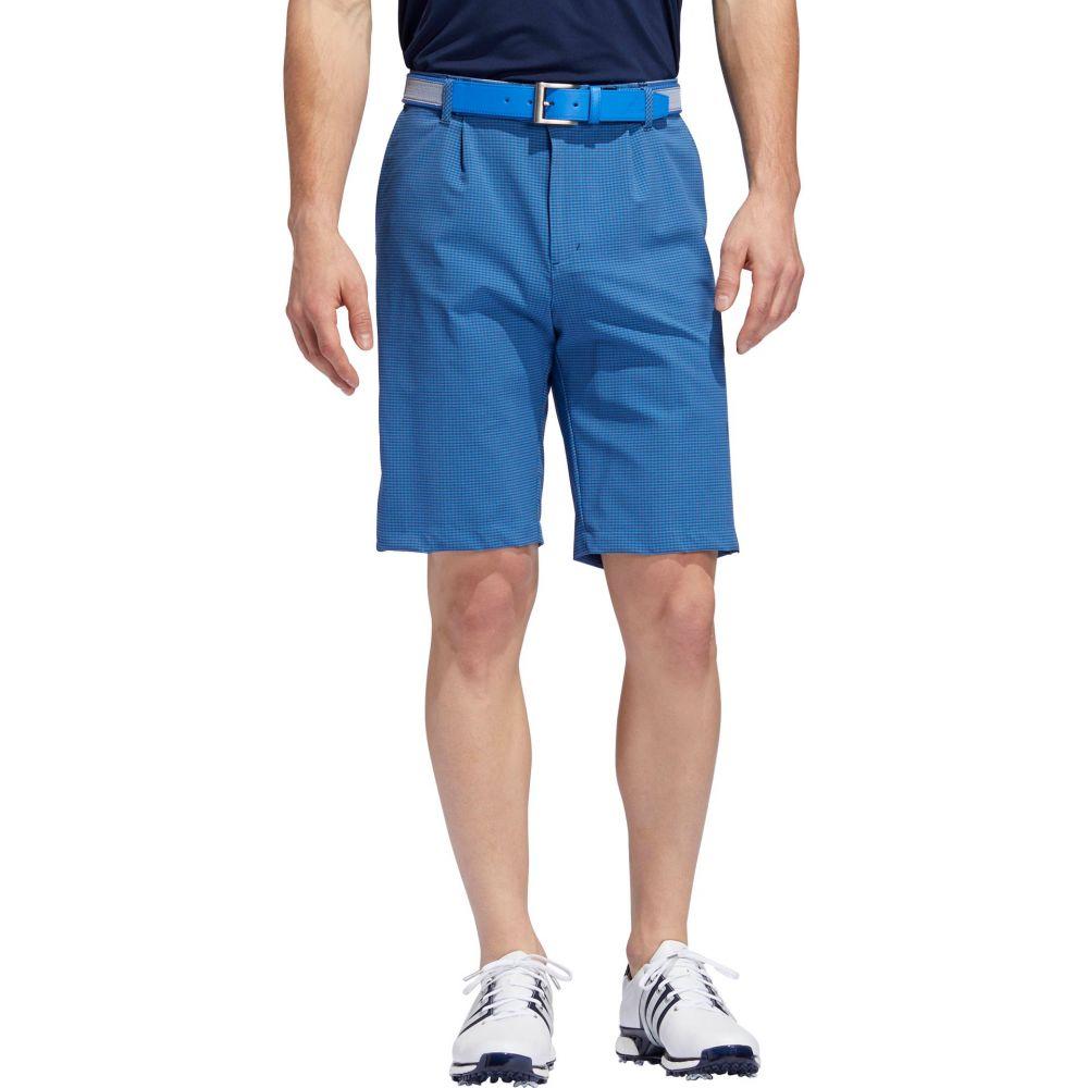 アディダス adidas メンズ ゴルフ ショートパンツ ボトムス・パンツ【Ultimate365 Gingham Golf Shorts】True Blue