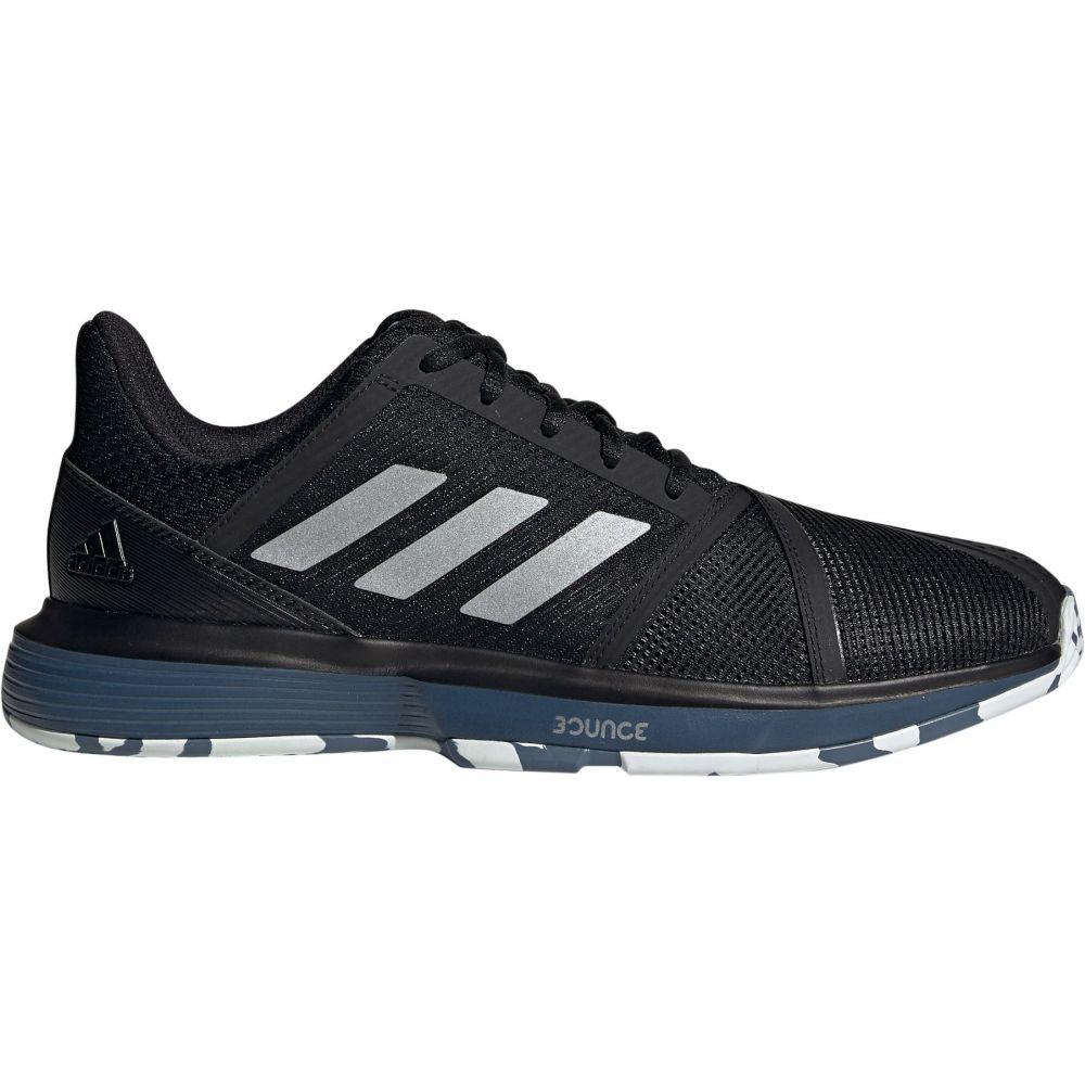 アディダス メンズ テニス シューズ・靴 【サイズ交換無料】 アディダス adidas メンズ テニス シューズ・靴【CourtJam Bounce Tennis Shoes】Black/Silver