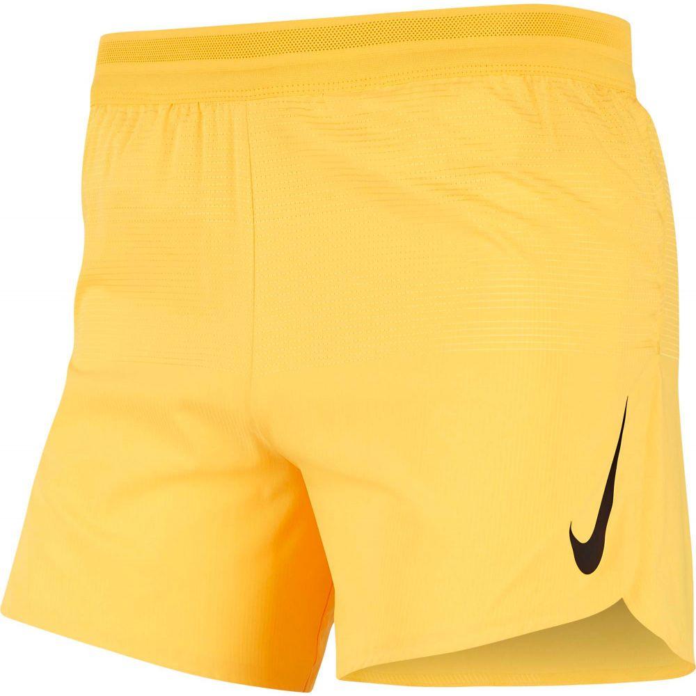 ナイキ Nike メンズ ランニング・ウォーキング ショートパンツ ボトムス・パンツ【AeroSwift 5'' Running Shorts】Laser Orange/Black