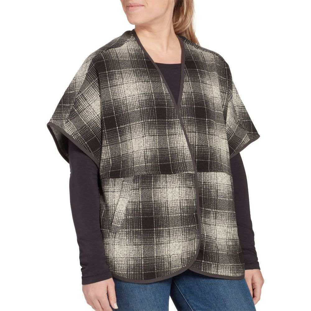 ザ ノースフェイス The North Face レディース ポンチョ アウター【Crescent Fleece Poncho】Vintagewhtombreplaidprint
