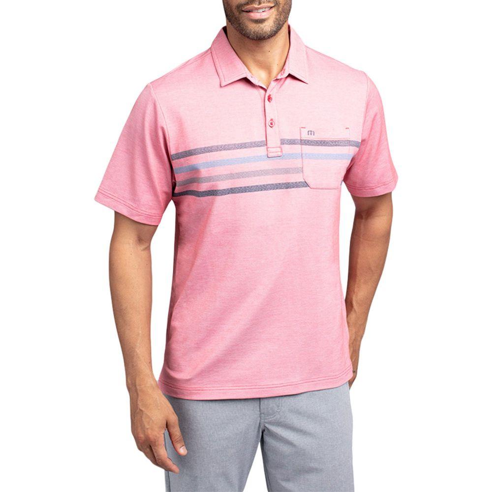 トラビスマシュー TravisMathew メンズ ゴルフ ポロシャツ トップス【Choma Golf Polo】Heather Cardinal
