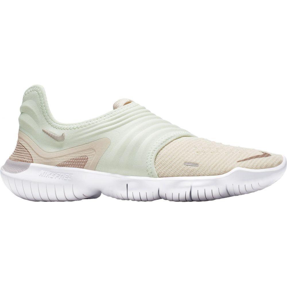 ナイキ Nike レディース ランニング・ウォーキング シューズ・靴【Free RN Flyknit 3.0 Running Shoes】Cream/Teal Tint