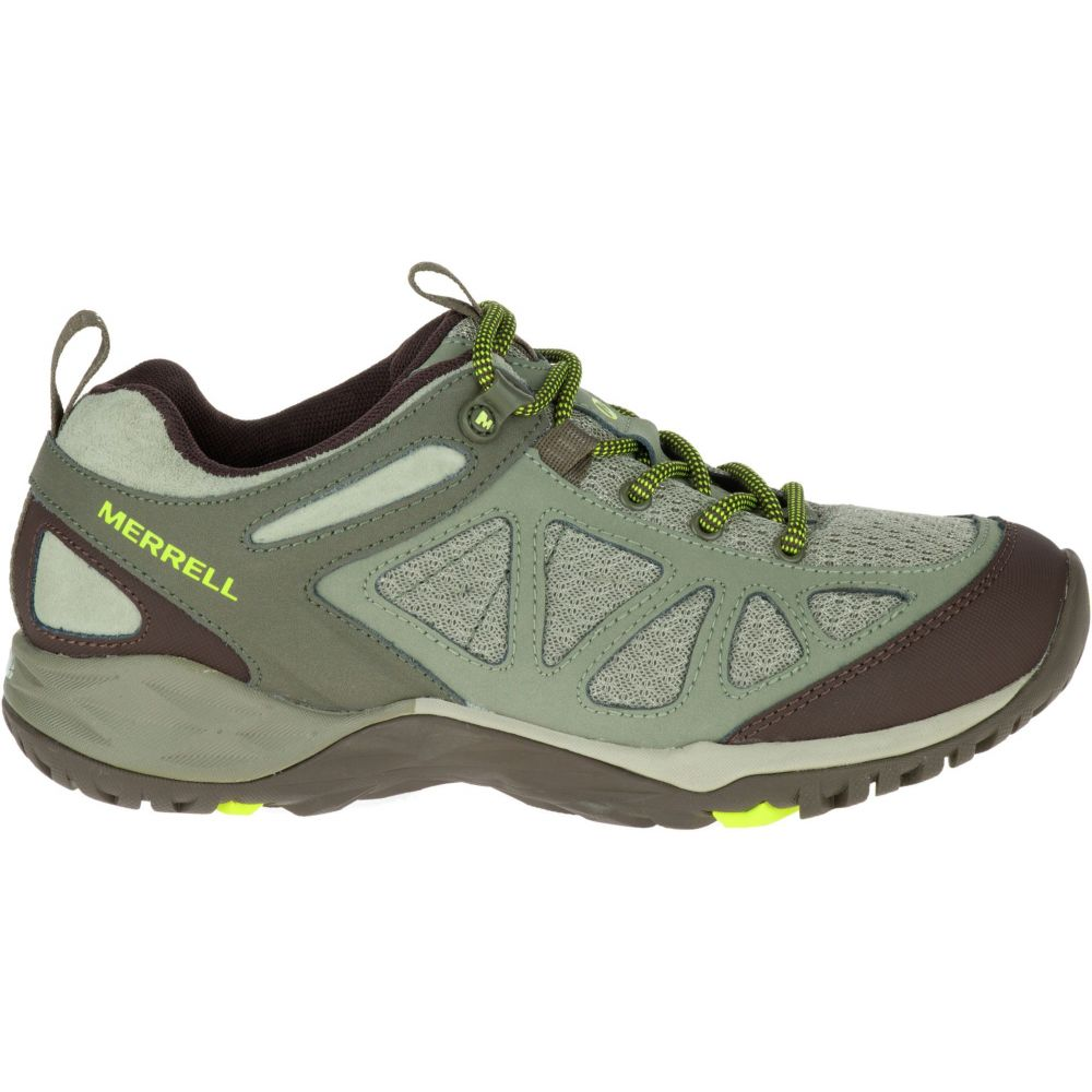 メレル Merrell レディース ハイキング・登山 シューズ・靴【Siren Sport Q2 Hiking Shoes】Dusty Olive