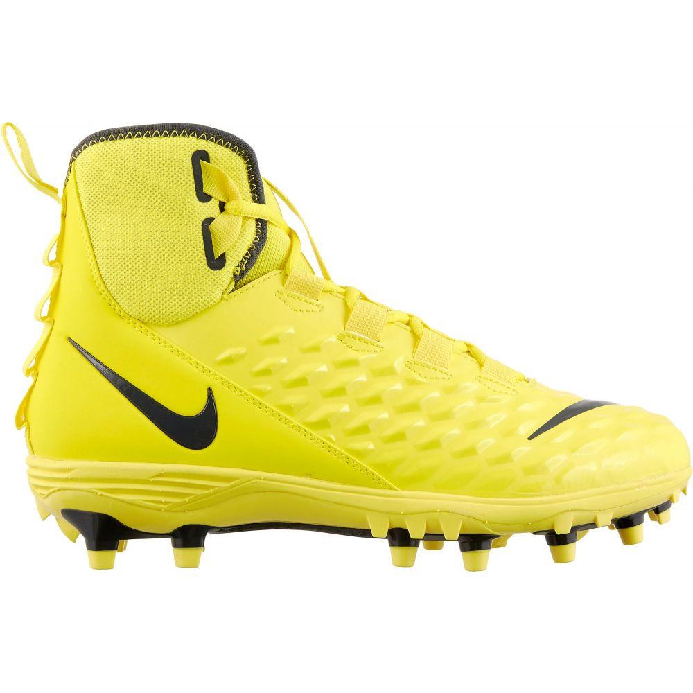 ナイキ Nike メンズ アメリカンフットボール スパイク シューズ・靴【Force Savage Varsity 2 Mid Football Cleats】Yellow/Black