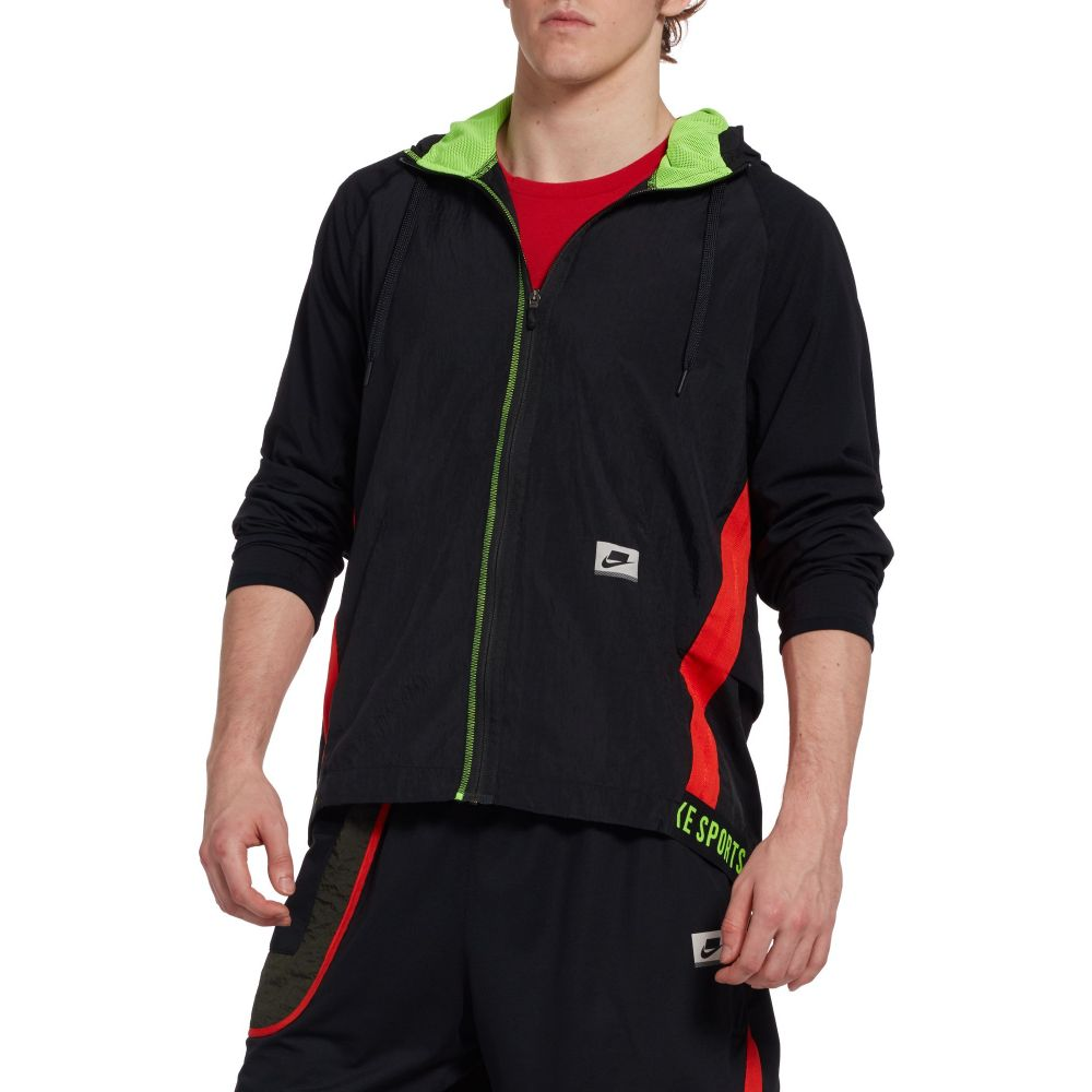 ナイキ Nike メンズ フィットネス・トレーニング ドライフィット ジャケット アウター【Dri-FIT Flex Training Jacket】Black/Black